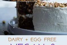VEGAN GLUTEN FREE DAIRY FREE CARROT CAKE