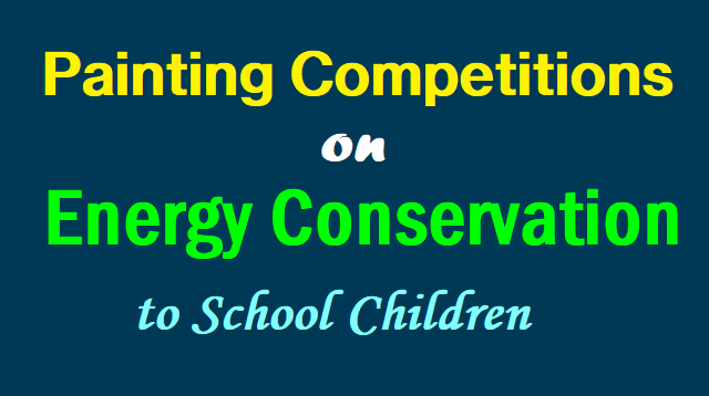 TS State Level Painting Competition on Energy Conservation 14th November, 2017