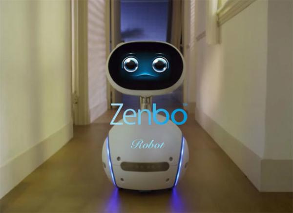 بالفيديو: أسوس تكشف عن روبوتها الجديد Zenbo