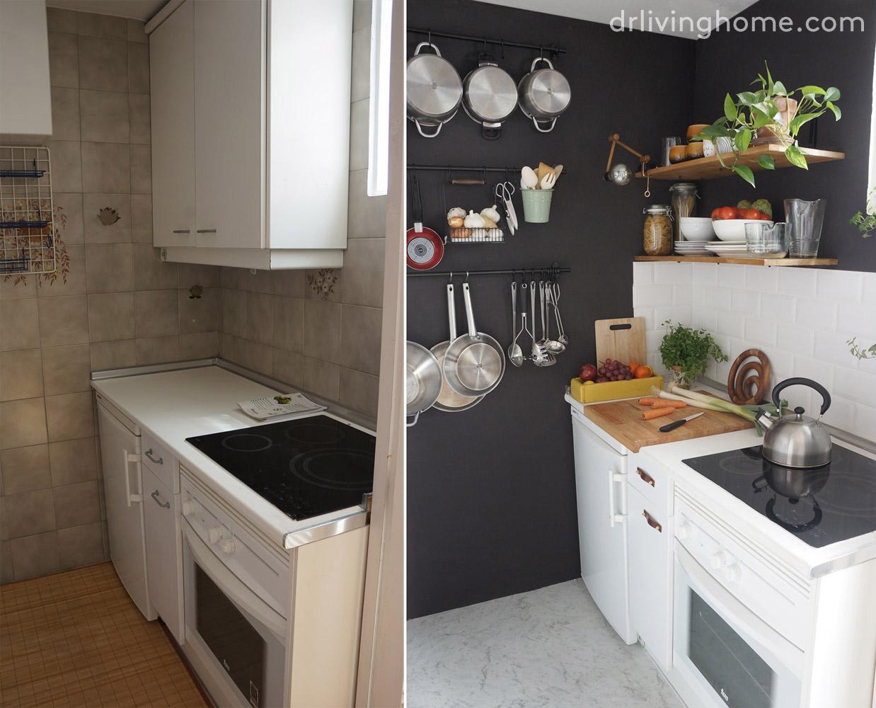 Renovar la cocina sin obras iii c mo alicatar sobre for Como renovar una cocina sin obras