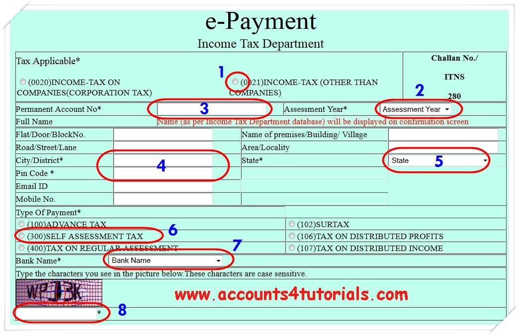 know your pan name  accounting  taxation
