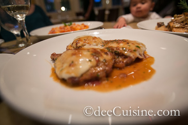 Veal Sorrentina at Quattro Pazzi in Stamford, CT