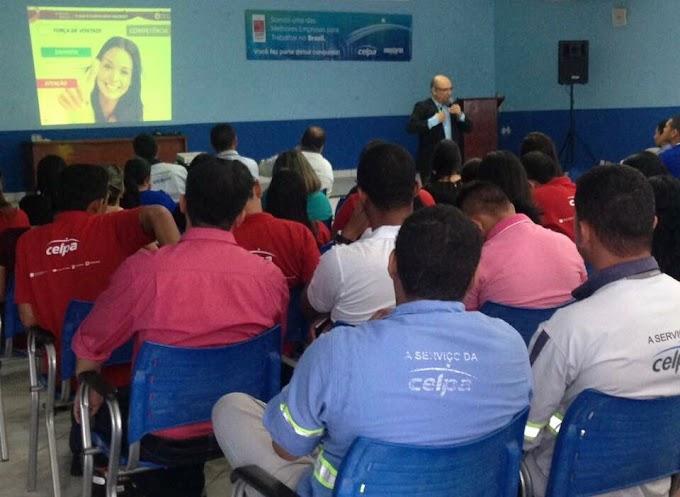 Celpa realiza treinamento para sensibilizar colaboradores do Oeste Paraense