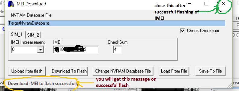 IMEI fix For MT6755/6753 Lenovo K5 note