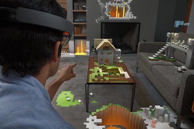 Hololens Minecraft AR