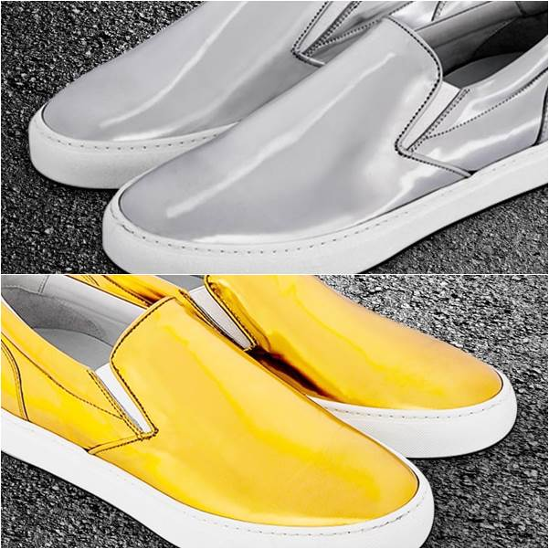 Greats Wooster Gold Silver The Trophy Pack Sneakers