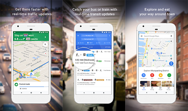 Google Maps - Aplikasi Traveling untuk Traveler dan Backpacker