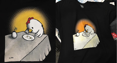 I Asked For Scrambled T-Shirt by Luke Chueh x Unbearable Apparel