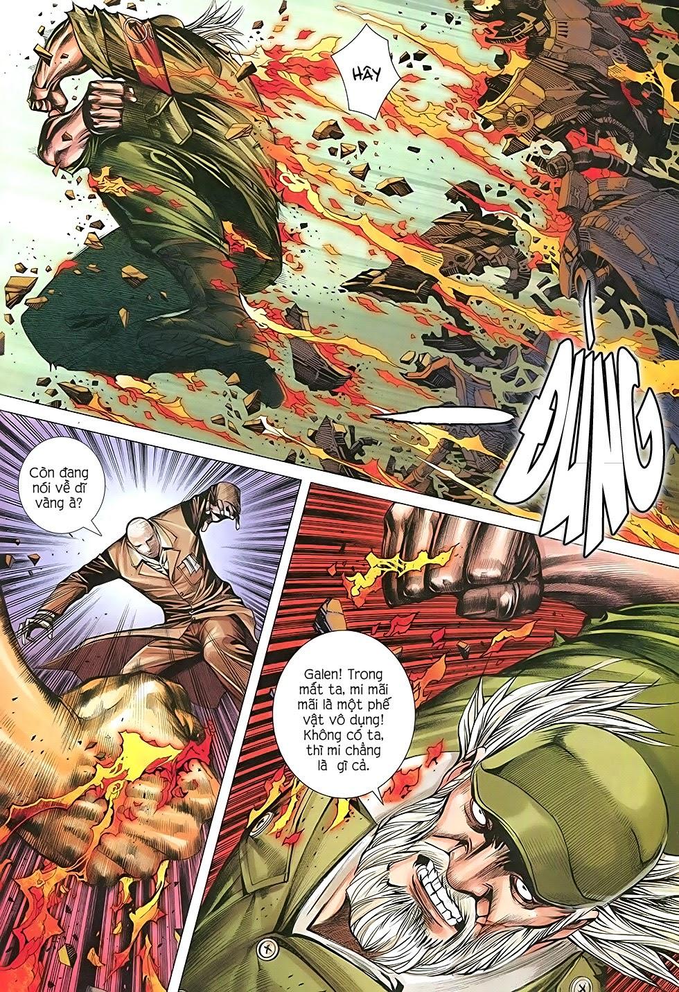 Đại Quân Phiệt chap 36: cuộc chiến cuối của castro trang 10