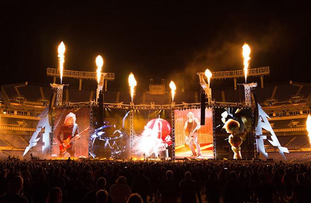 Metallica transmitirá ao vivo show no canadá nesta quarta feira 16 de agosto
