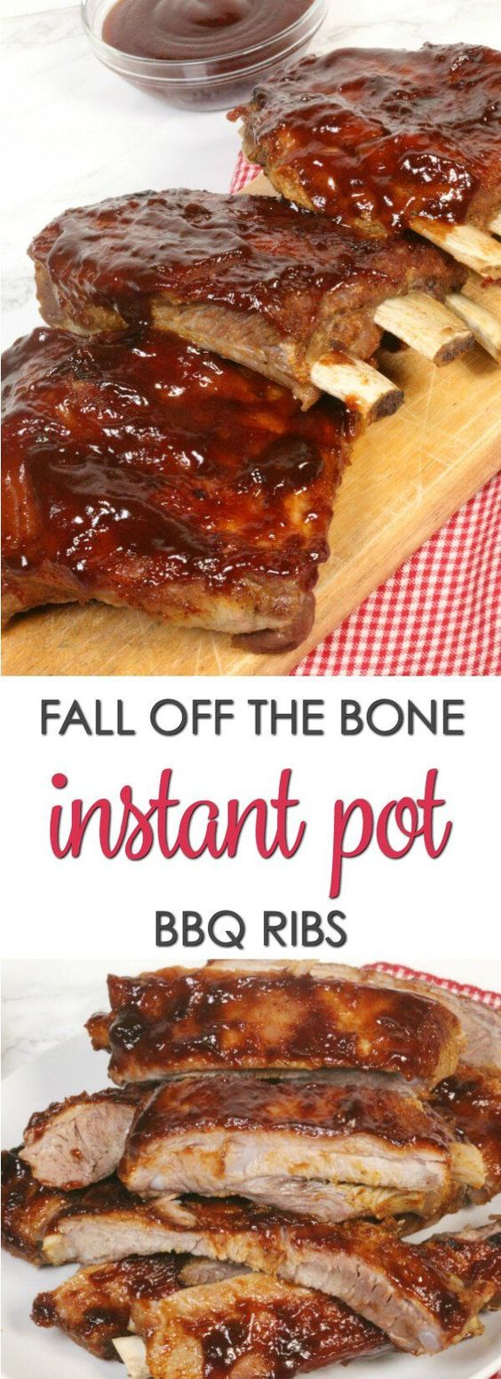 Learn how to make the easiest (10-minute prep) fall-off-the-bone slow cooker ribs that will have everyone licking their fingers & plates! This is the best method for fixing bbq ribs if you don't own a smoker or it's cold outside. Cook the ribs in as little as 4 hours using the high setting on your crock-pot. Use your favorite rack of ribs (spare, country style, baby back, beef) and barbecue sauce for an easy comforting meal any night of the week.