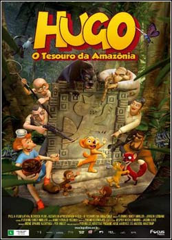 Hugo O Tesouro da Amazonia Download   Hugo   O Tesouro da Amazônia   DVDRip Dublado