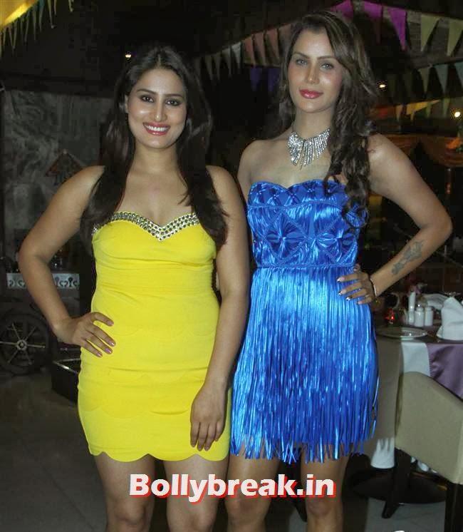 Arjumman Mughal and Shamika, BGrade Movie Actresses Celebrate Republic Day at Peninsula Grand