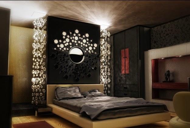 Dormitorios decorados con espejos dormitorios colores y for Dormitorios con espejos grandes