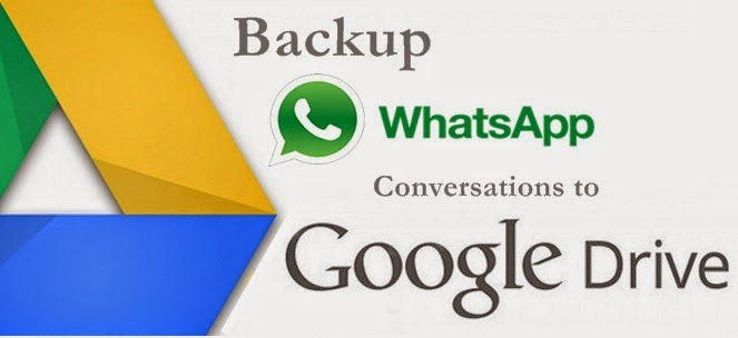 Step by step guide on setup up whatsapp chats or conversation backup to google drive cloud storage