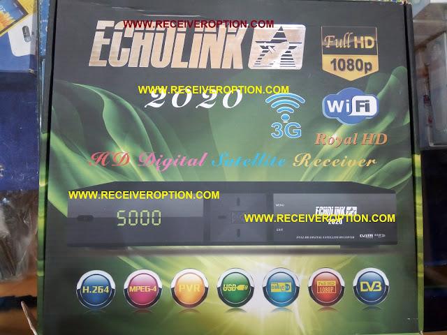 ECHOLINK 2020 HD RECEIVER CCCAM OPTION
