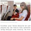 Kejahilan Kenzou Memotret Tamara Bleszynski Saat Tertidur, Netizen Dibikin Salfok sama Penampilannya!