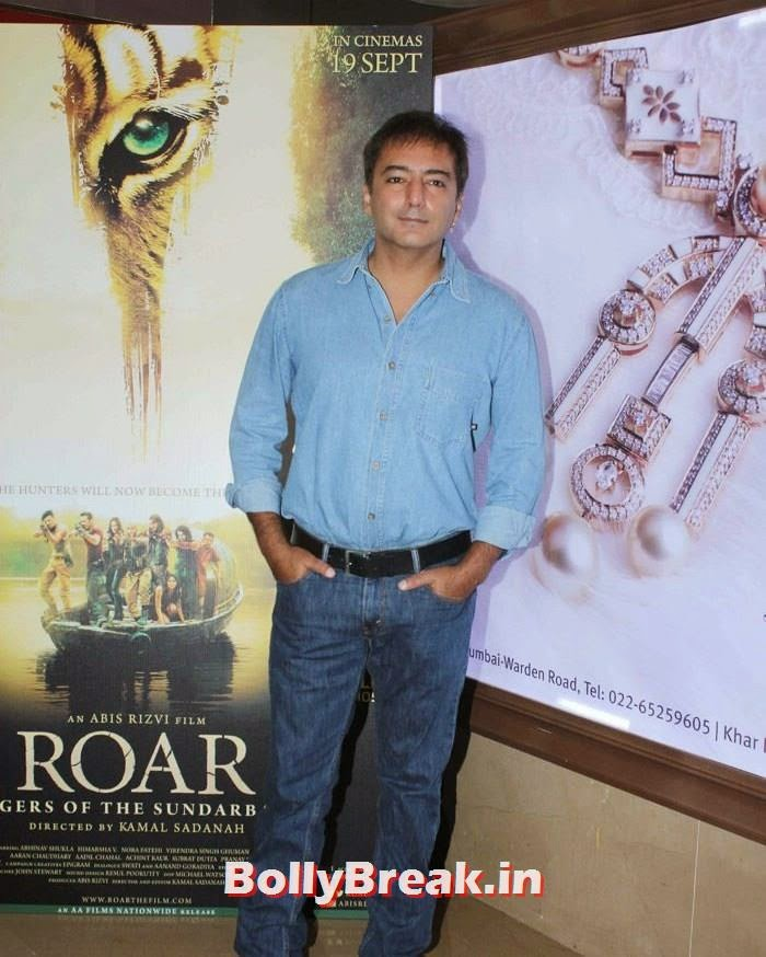 Kamal Sadanah, Celebs at 'Roar' Movie First Look Launch
