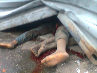 Killed By Truck  ,Ogun,Couple ,Ibese in Yewa North local government area,Dangote factory