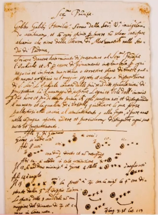 time galileo wrote the letter to the grand duchess christina galileo ...