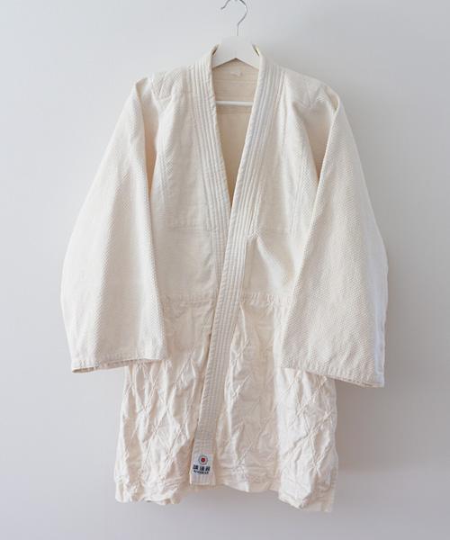 柔道着 ジャパンヴィンテージ 70年代 織刺 講道館 藍染 刺し子 ポータークラシック FUNS