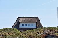 typisch für Sylt, reetgedecktes Haus