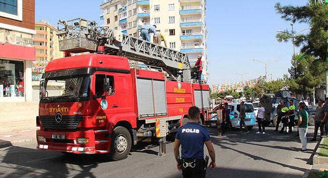 Diyarbakır'da Tesisler mevkiinde intihar girişimi