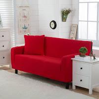 Huk Lai Sofas Red Sofa