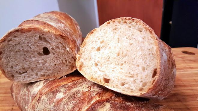 Calculateur de pesées pour pain au levain.