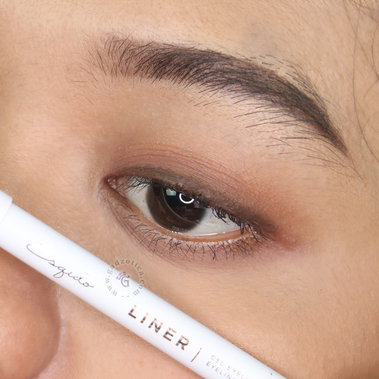 ESQIDO Gel Eyeliner Pencil Brown Review