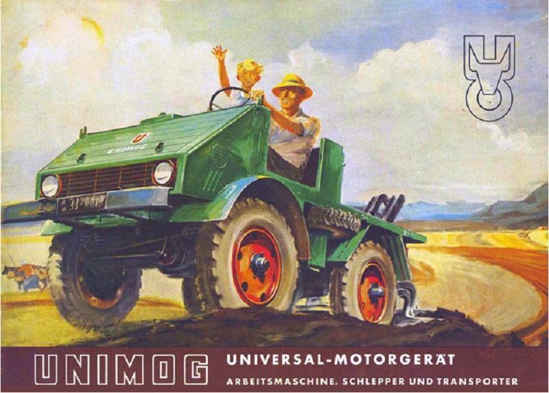 Tractores En 143 Taller El 22 Unimog U 401 1953