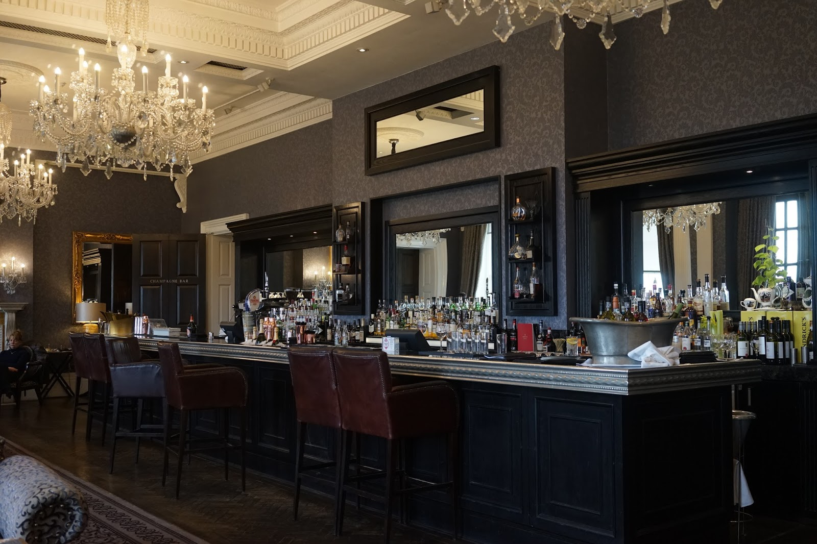 champagne bar oulton hall