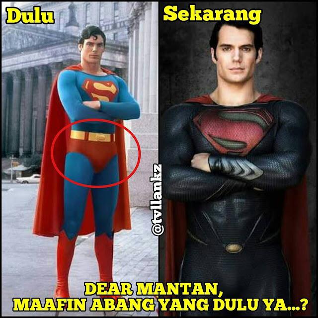 Meme Dear Mantan superman