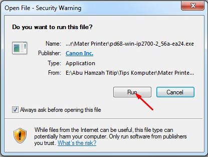 install driver canon ip2770