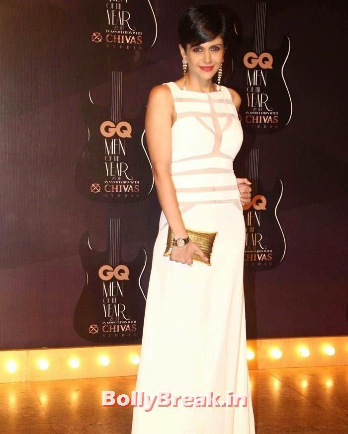 Mandira Bedi, Red Carpet Pics of GQ Men Of The Year Awards 2014