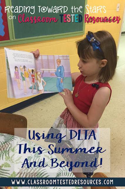 Reading aloud to students is a great way to make sure they predict and get comprehension skill instruction. The DLTA is a perfect way to help engage students as you read aloud to them!
