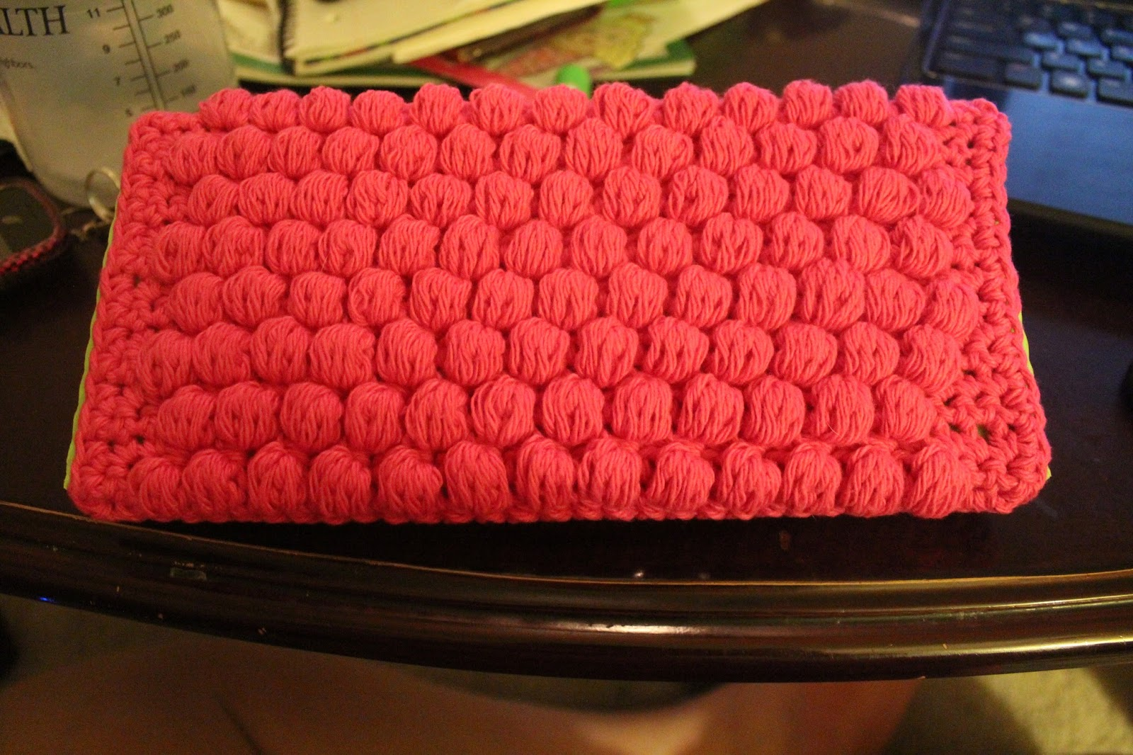 Stormfly Crafts Crochet Washable Swiffer Sweeper Pad