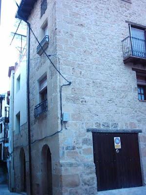 Calle Palacio, El Palau, El Palacio, casa Javi Solfa, Javier Moragrega