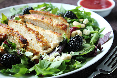Delicious as it Looks: Blackberry Chicken Salad