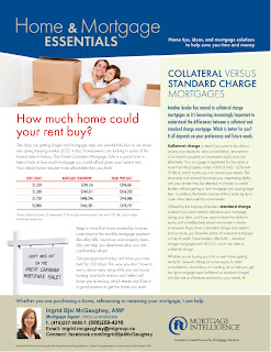 Home and Mortgage Newsletter - How much home could your rent buy?