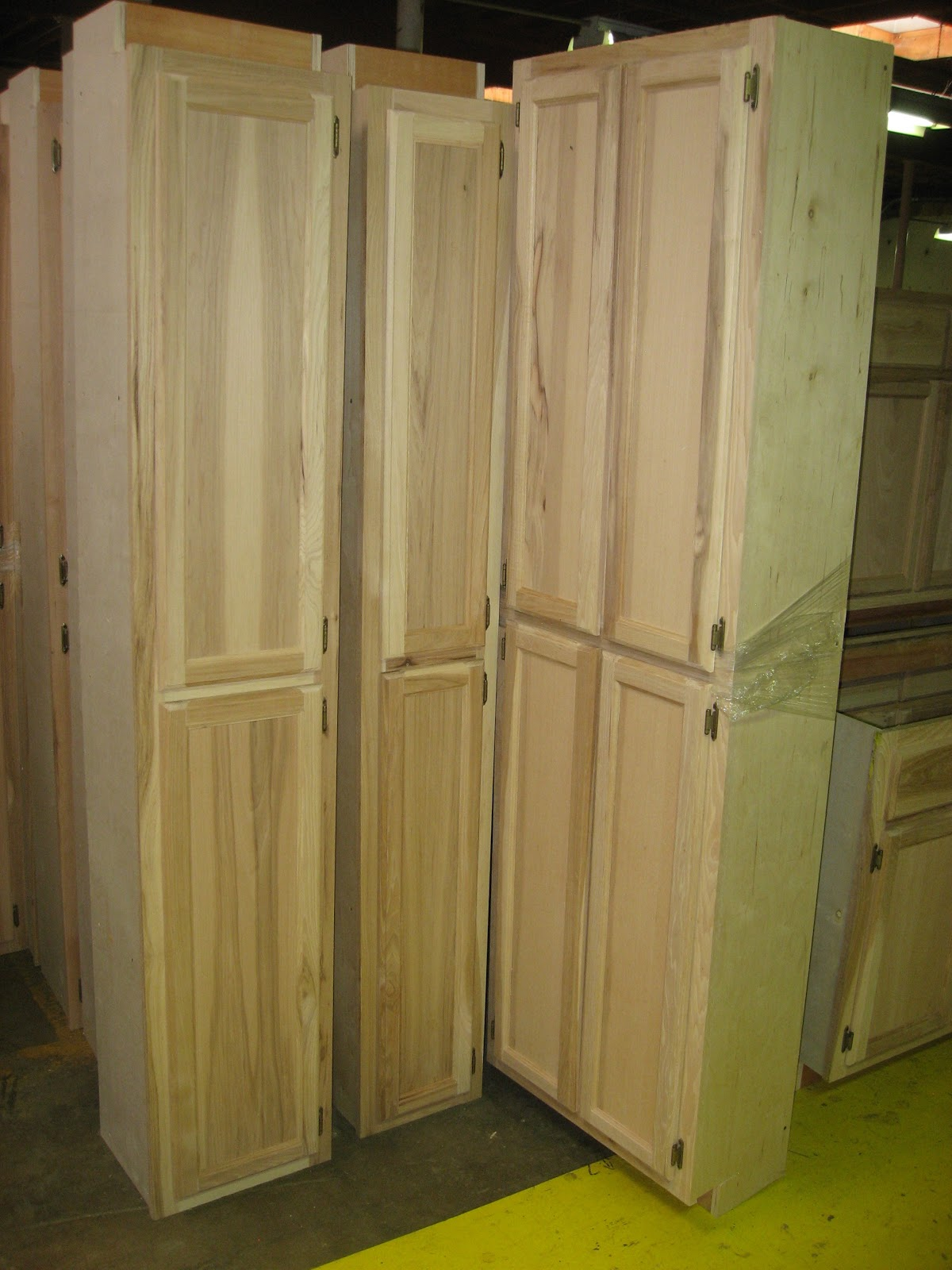 Discount Replacement Kitchen Cabinet Doors Cherry Cabinets Blue Ridge Surplus: Hickory Unfinished