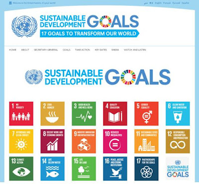 UN's Sustainable Development Goals Website