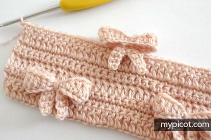 Punto Lazos a Crochet o Ganchillo
