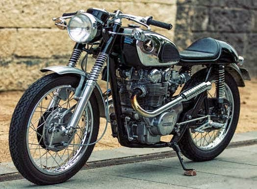 Modifikasi Honda CB450 KO Cafe Racer