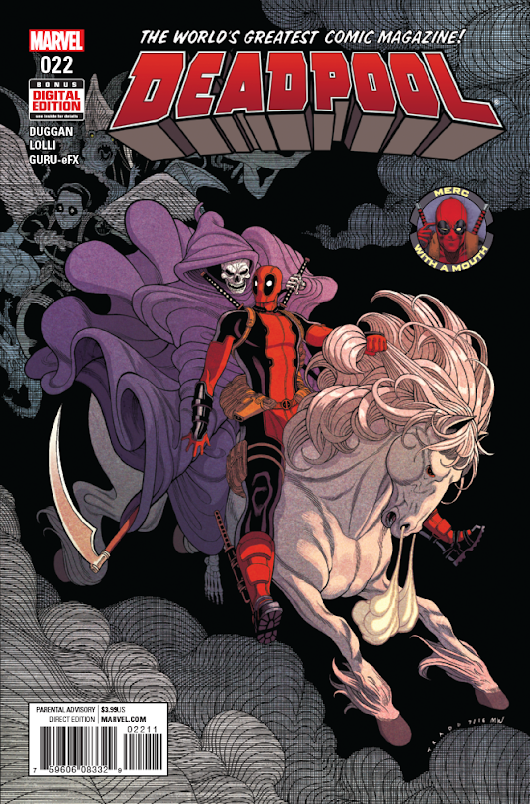 Deadpool #22 Preview
