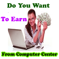 earn from computer center, earn from IT education