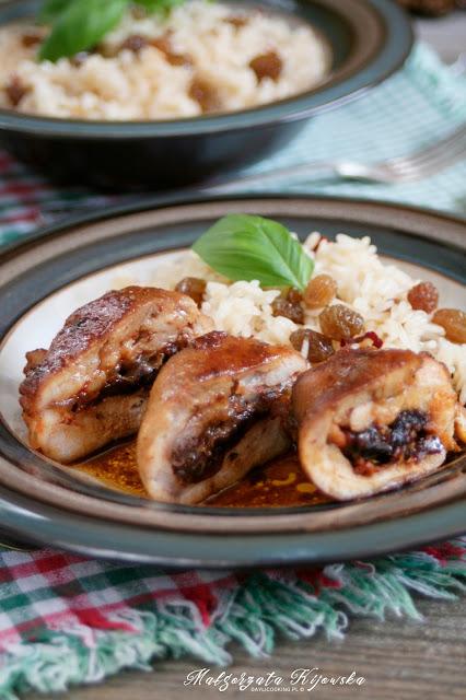 danie z kurczakiem, obiad, ocet balsamiczny, sos z octem balsamicznym, daylicooking