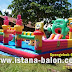 Istana Balon Spongebop 6 X 10