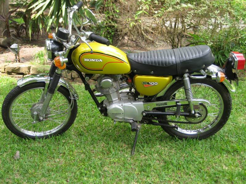 1972+Honda+CL100+Motorcycle honda cl100 motorcycle 1970 1973 complete wiring diagram all 1972 CL100 Project at panicattacktreatment.co