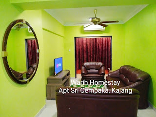 Warih-Homestay-Sri-Cempaka-Living-Hall-With-Aircond